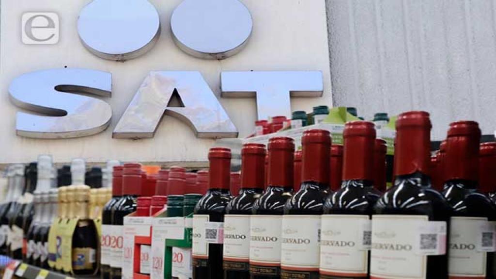 Pierde el SAT 112 mil mdp por venta ilegal de licor